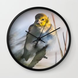 A little winter color Wall Clock