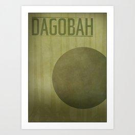 Dagobah Art Print