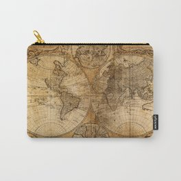 World Map 1746 Carry-All Pouch