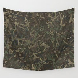 Tools camouflage Wall Tapestry