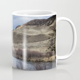 John Day River and Sheep Rock Coffee Mug