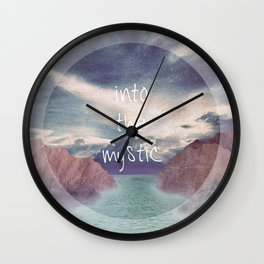 Into the Mystic (ANALOG zine) Wall Clock