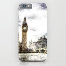 Westminster Bridge London snow Slim Case iPhone 6s