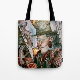 Time Cafe Tote Bag