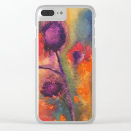Flowers 1976 Clear iPhone Case