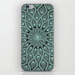 Delicate Teal iPhone Skin