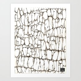 Fondo de Piedra Art Print