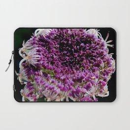 field carmine flower Laptop Sleeve