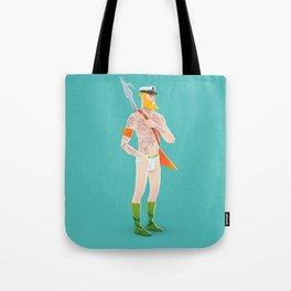 Rocker Aquaman blue Tote Bag