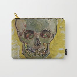 Vincent Van Gogh - Skull, 1887 Carry-All Pouch