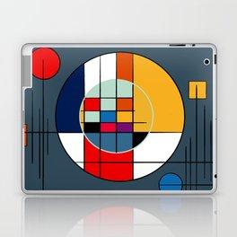 abstract art geometric Laptop & iPad Skin