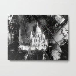 Paris - Basilique du Sacré Cœur Metal Print
