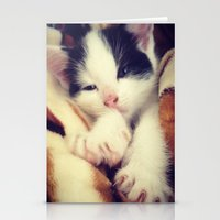 harley Stationery Cards featuring Harley by LouisaD