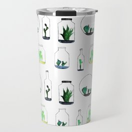 Bottled cactuses Travel Mug