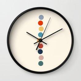 Dot Stack Wall Clock