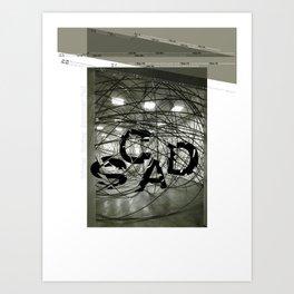 Fragmentation Poster Art Print