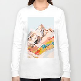glass mountains Long Sleeve T-shirt