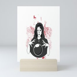 Salem 1692 Missed One 31 October Halloween Gift For A Witch Mini Art Print