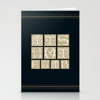 labyrinth Stationery Cards featuring Labyrinth by MacGuffin Designs