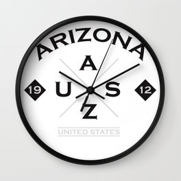 Arizona USA America Wall Clock