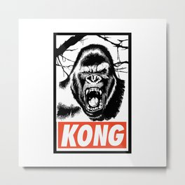 kong Metal Print