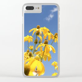Epic Sunflowers Clear iPhone Case