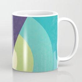 Midnight in The Desert - Retro Circles Coffee Mug