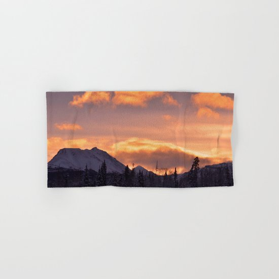 Flat Top Sunrise Hand & Bath Towel