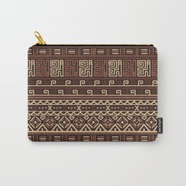 Tribal Patterns Carry-All Pouch
