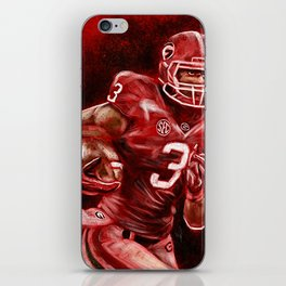 Todd Gurley of UGA Bulldog Football iPhone Skin