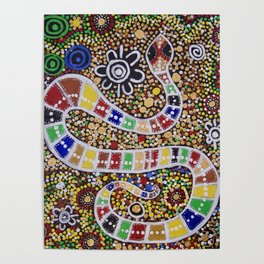 THE RAINBOW SERPENT Poster