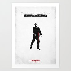 Hannibal - Contorno Art Print