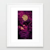 dracula Framed Art Prints featuring Dracula by Denis O'Sullivan