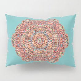 Digital Hawaii Mandala Pillow Sham