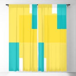 Geomeric background Blackout Curtain