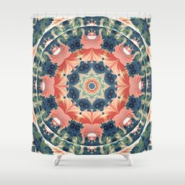 Mandalas from the Heart of Change 16 Shower Curtain