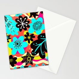Funky colors Stationery Cards