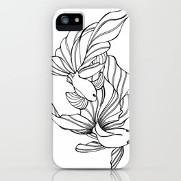 Dance of the Fighters iPhone Case