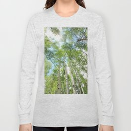 Aspen Trees Long Sleeve T-shirt