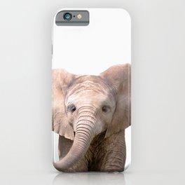 Cute Baby Elephant iPhone Case