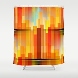 City Heights Shower Curtain