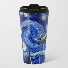 Harry And Ron on The Flying Car Travel Mug
