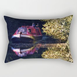 Anyone for coal on the oxford canal Rectangular Pillow