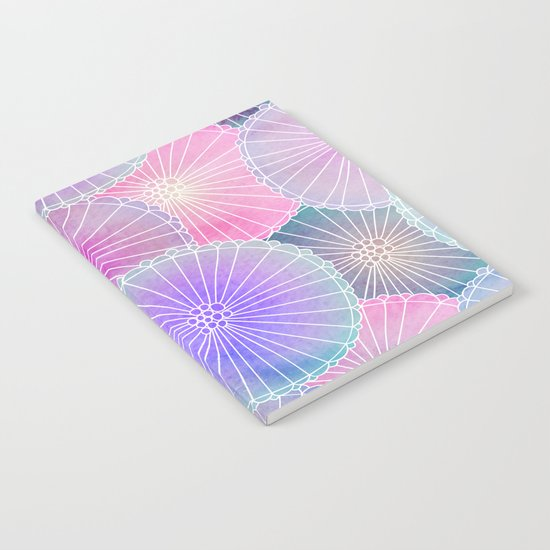 Floral Pattern 16 Notebook