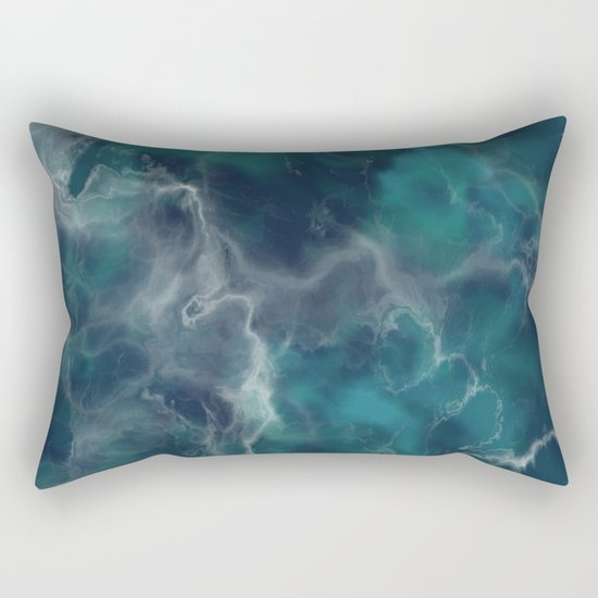 Deep Turquoise Marble by patternsoflife