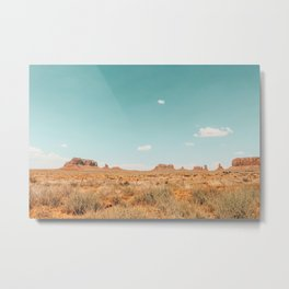 Monument Valley, Navajo County, Arizona Metal Print