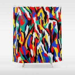 BAUHAUS CAMOUFLAGE Shower Curtain