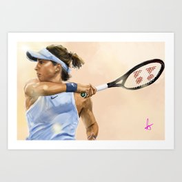 Caroline Garcia Art Print