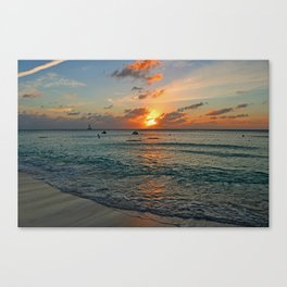Even in Darkness Canvas Print