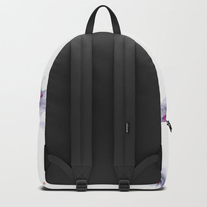 Delicate Floral Pattern 05 Backpack